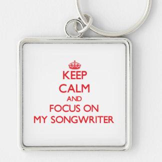 Guarde la calma y el foco en mi compositor