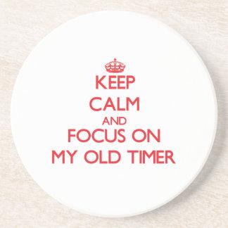 Guarde la calma y el foco en mi contador de tiempo