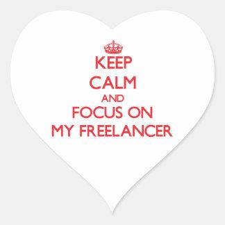 Guarde la calma y el foco en mi Freelancer