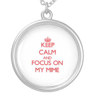 Guarde la calma y el foco en mi Mime