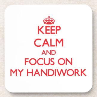 Guarde la calma y el foco en mi obra