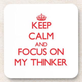 Guarde la calma y el foco en mi pensador