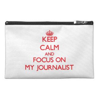 Guarde la calma y el foco en mi periodista