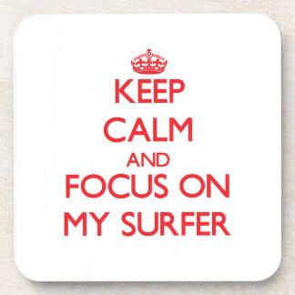 Guarde la calma y el foco en mi persona que practi