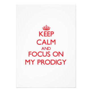 Guarde la calma y el foco en mi Prodigy