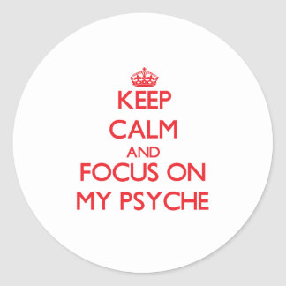 Guarde la calma y el foco en mi psique