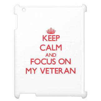 Guarde la calma y el foco en mi veterano