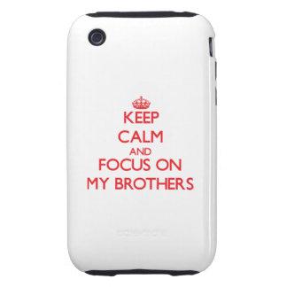 Guarde la calma y el foco en mis hermanos
