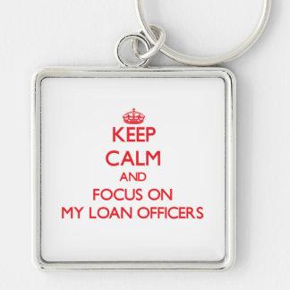 Guarde la calma y el foco en mis oficiales de prés