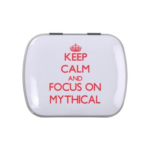 Guarde la calma y el foco en mítico frascos de dulces