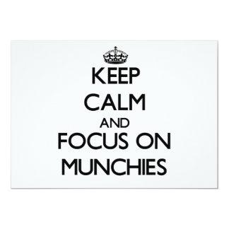 Guarde la calma y el foco en Munchies