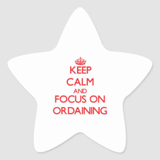 Guarde la calma y el foco en ordenar