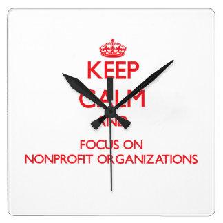 Guarde la calma y el foco en organizaciones sin án
