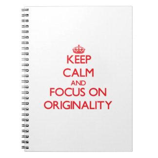 Guarde la calma y el foco en originalidad