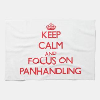 Guarde la calma y el foco en Panhandling