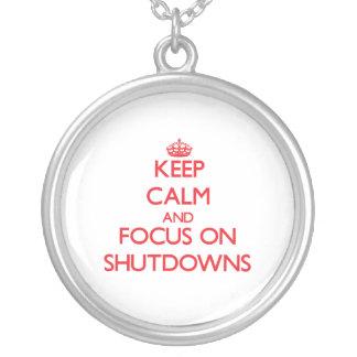 Guarde la calma y el foco en paradas joyerias personalizadas
