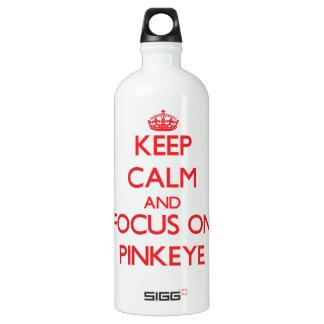 Guarde la calma y el foco en Pinkeye