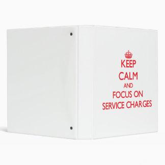 Guarde la calma y el foco en precios de servicio