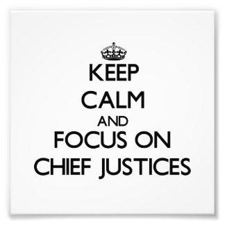 Guarde la calma y el foco en Presidentes del Tribu