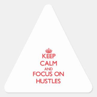 Guarde la calma y el foco en prisas