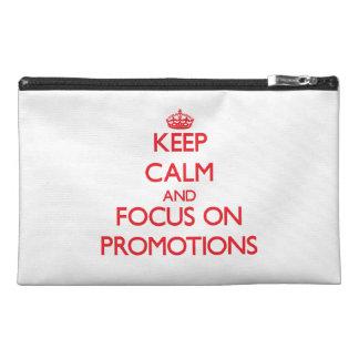 Guarde la calma y el foco en promociones