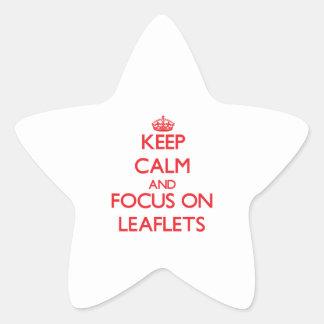 Guarde la calma y el foco en prospectos