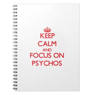 Guarde la calma y el foco en Psychos