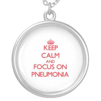 Guarde la calma y el foco en pulmonía