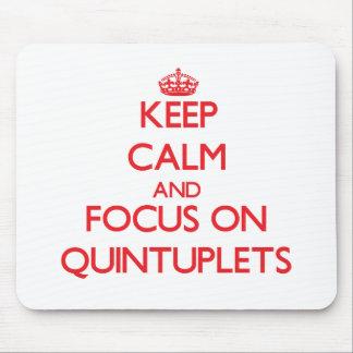 Guarde la calma y el foco en Quintuplets
