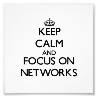 Guarde la calma y el foco en redes