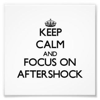 Guarde la calma y el foco en réplica sísmica