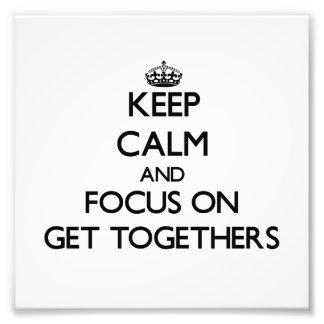 Guarde la calma y el foco en reuniones
