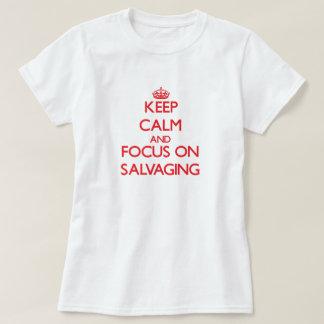 Guarde la calma y el foco en salvar camisas