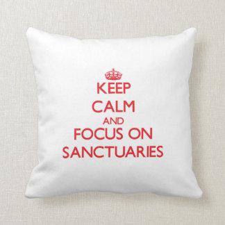 Guarde la calma y el foco en santuarios
