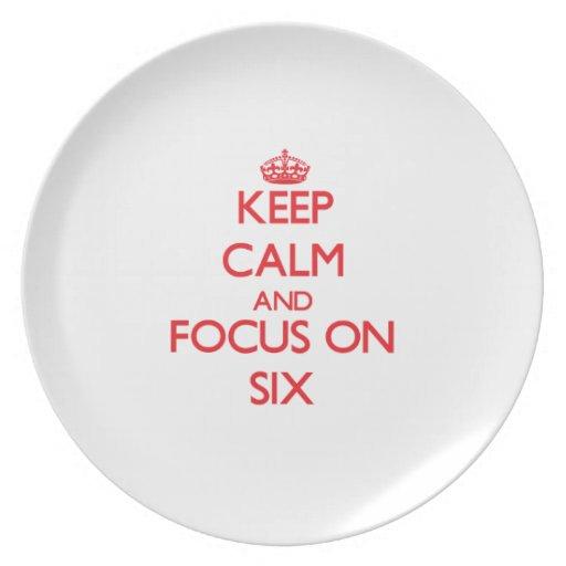 Guarde la calma y el foco en seis platos para fiestas