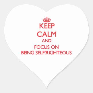 Guarde la calma y el foco en ser autosuficiente