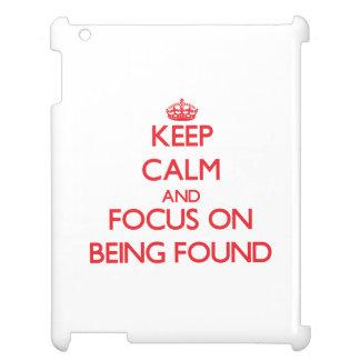 Guarde la calma y el foco en ser encontrado