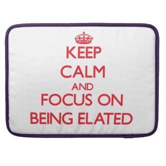 Guarde la calma y el foco en SER EXALTADO