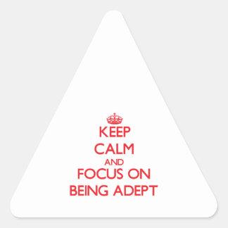 Guarde la calma y el foco en SER EXPERTO