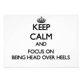 Guarde la calma y el foco en ser principal sobre l