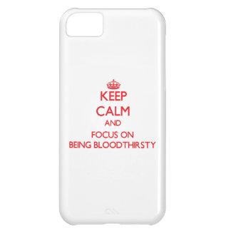 Guarde la calma y el foco en ser sanguinario