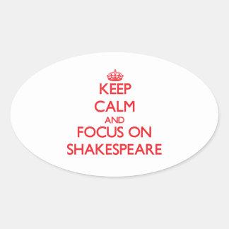 Guarde la calma y el foco en Shakespeare