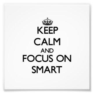 Guarde la calma y el foco en Smart Impresiones Fotográficas