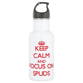 Guarde la calma y el foco en Spuds