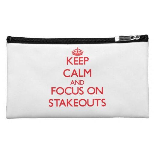 Guarde la calma y el foco en Stakeouts