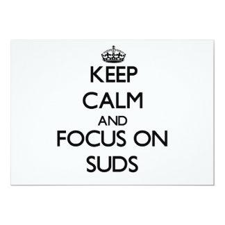 Guarde la calma y el foco en Suds Anuncios