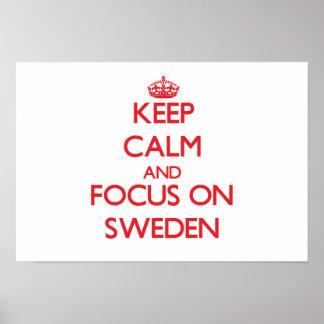 Guarde la calma y el foco en Suecia