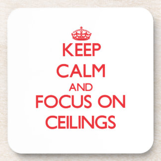 Guarde la calma y el foco en techos