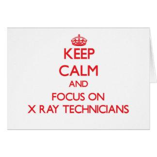 Guarde la calma y el foco en técnicos de la felicitación