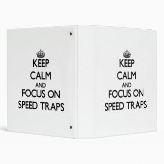 Guarde la calma y el foco en trampas de velocidad